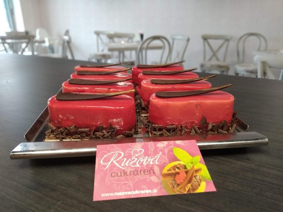 zakusky nitra ružová cukráreň