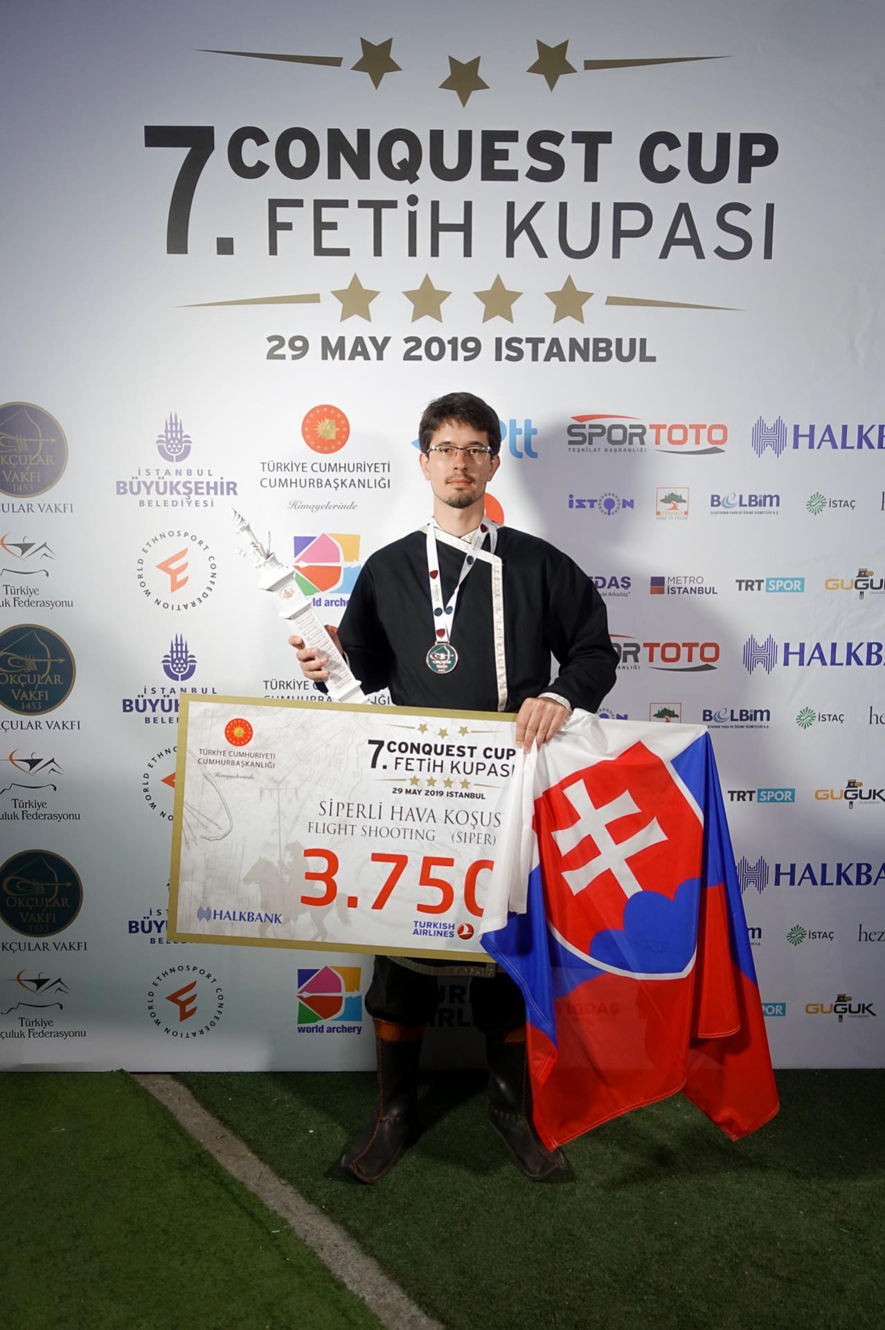 Nitriansky lukostrelec získal v Istanbule bronzovú medailu.