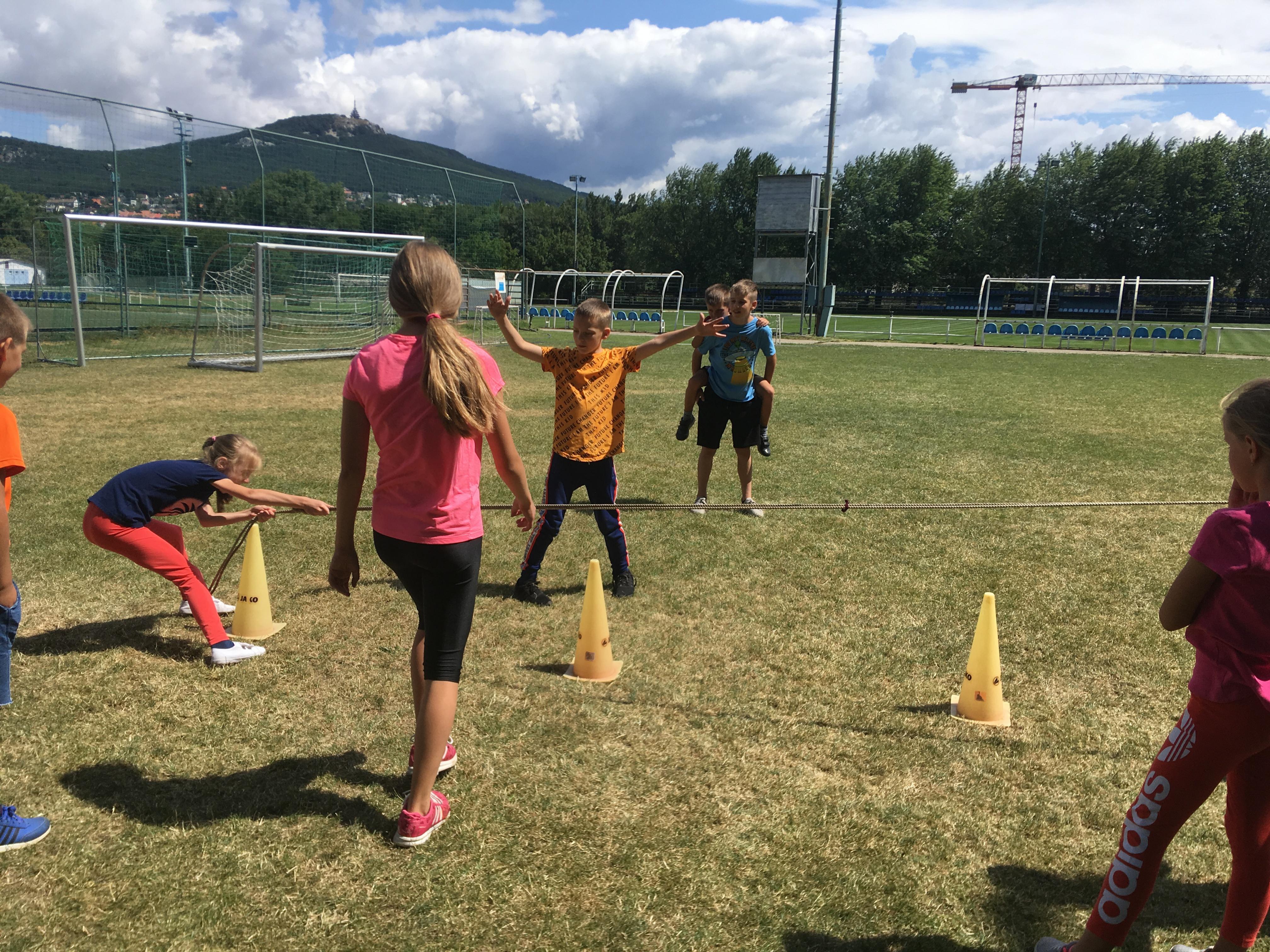 Letný tábor - liam school - sports