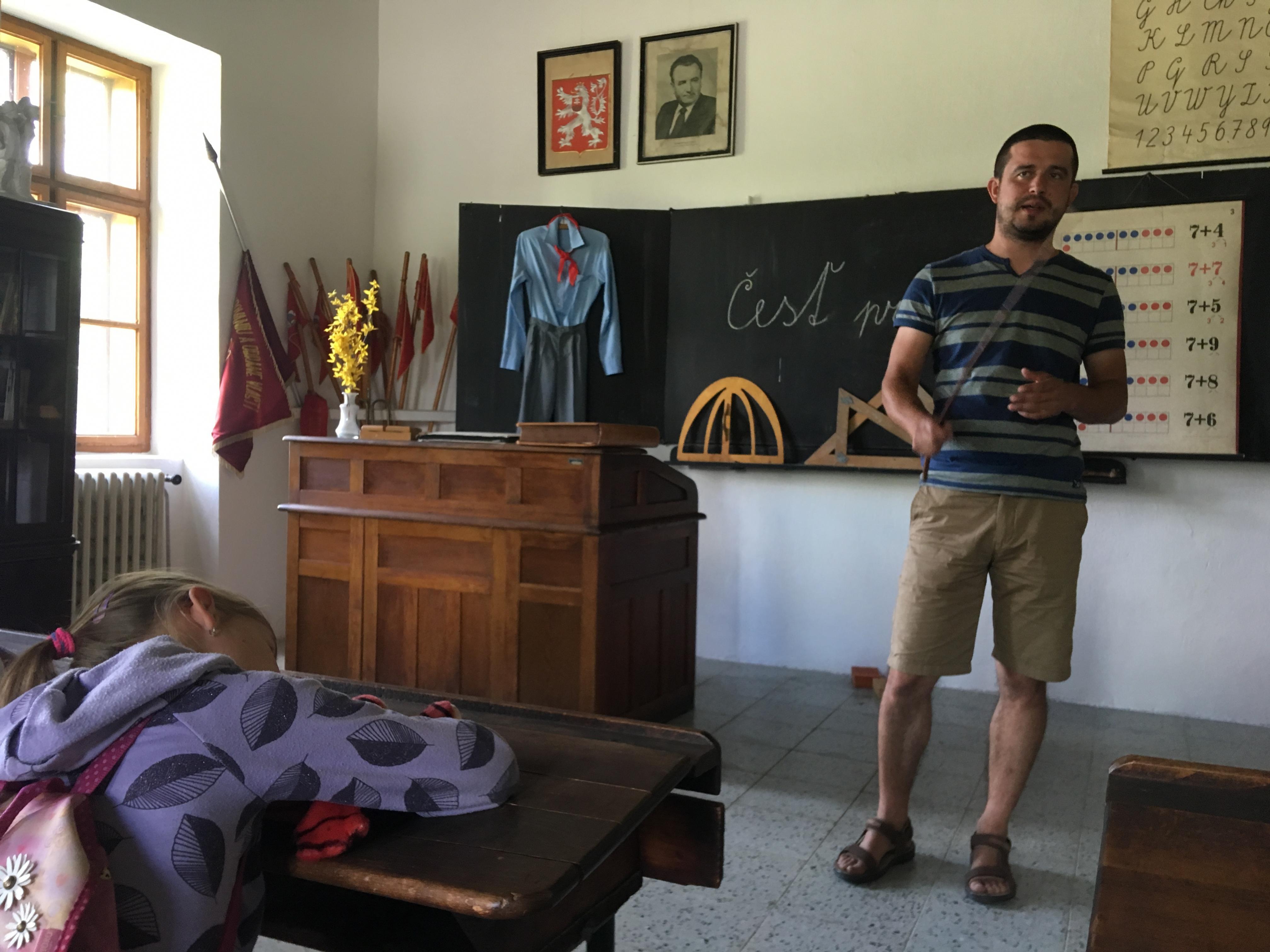 Letný tábor - liam school - history