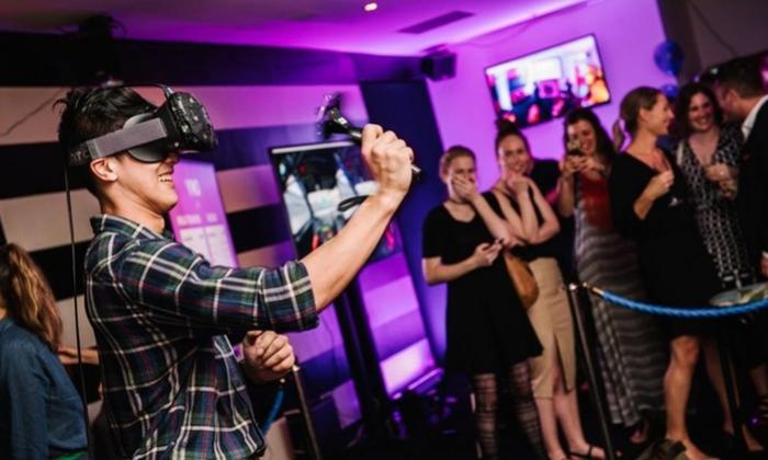 Virtuálna realita Nitra virtuálne dobrodružstvo adrenalín zábava