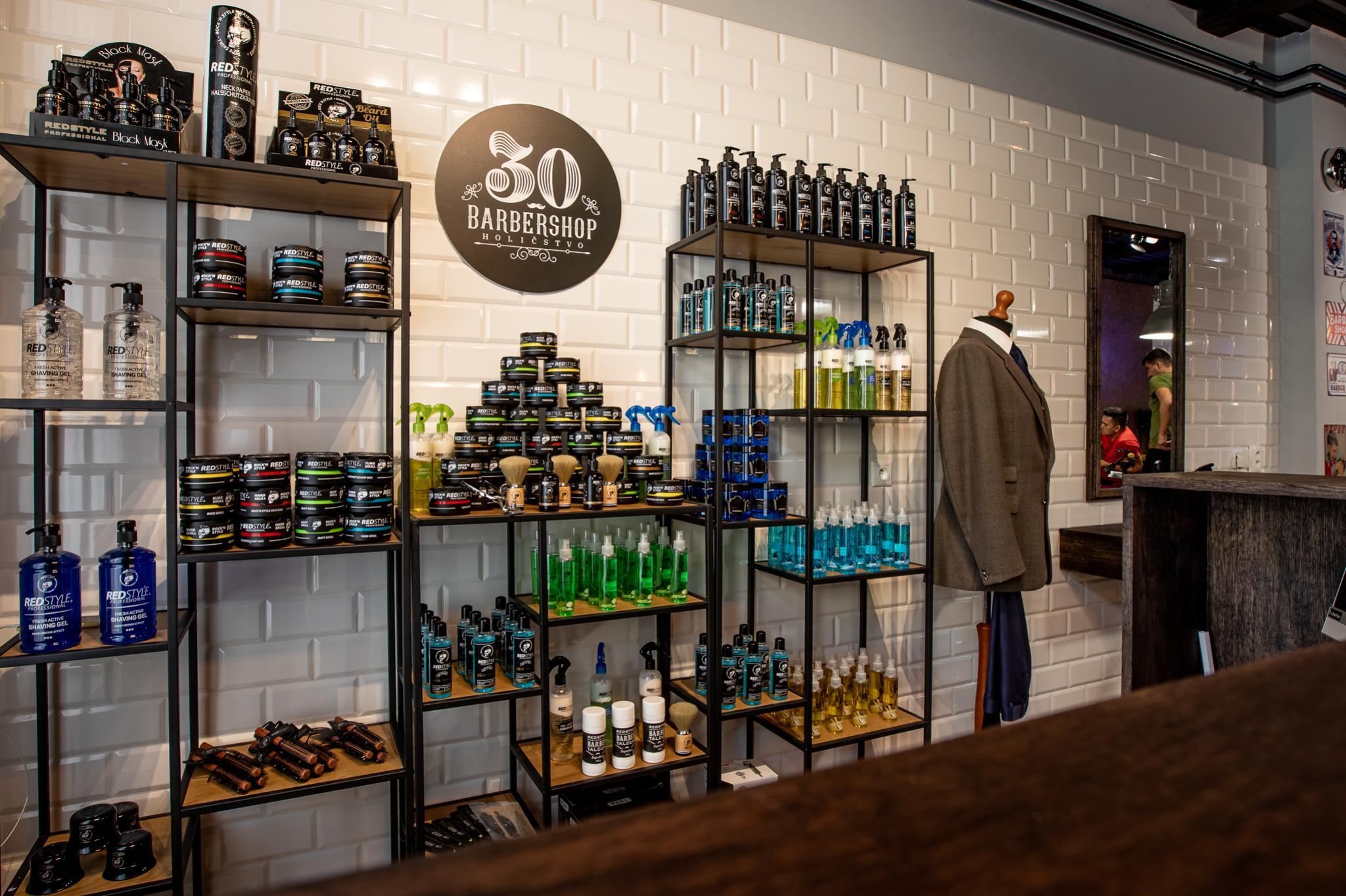profesionalna starostlivost a relax barbershop30