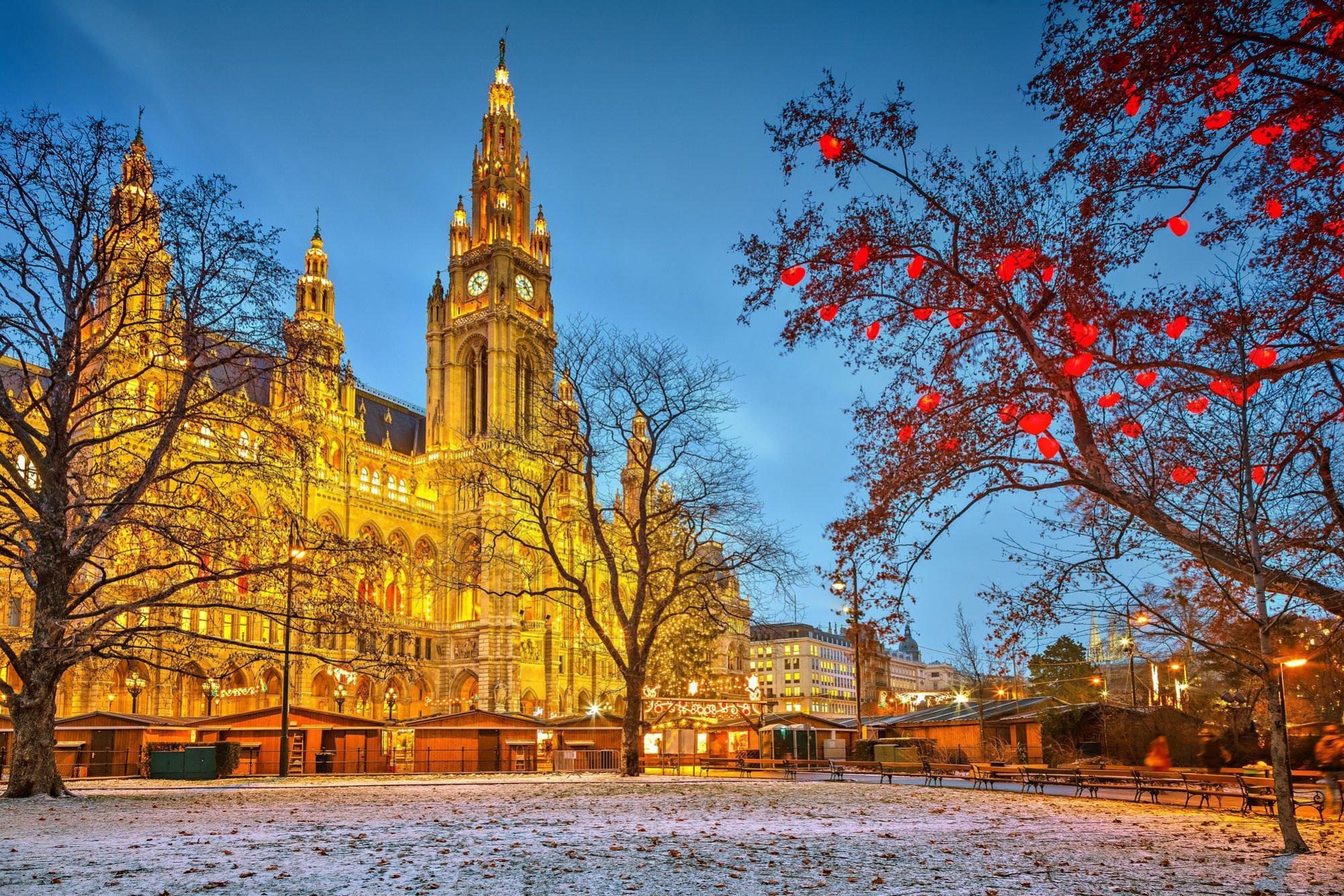 Vianocny trh vo Viedni