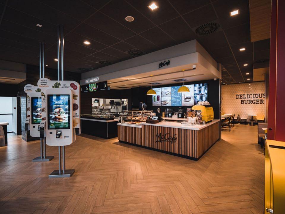 McDonald's terminal 1 beladice