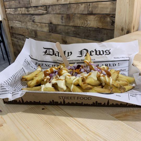 belgicke hranolceky v nitre strett food Fryday