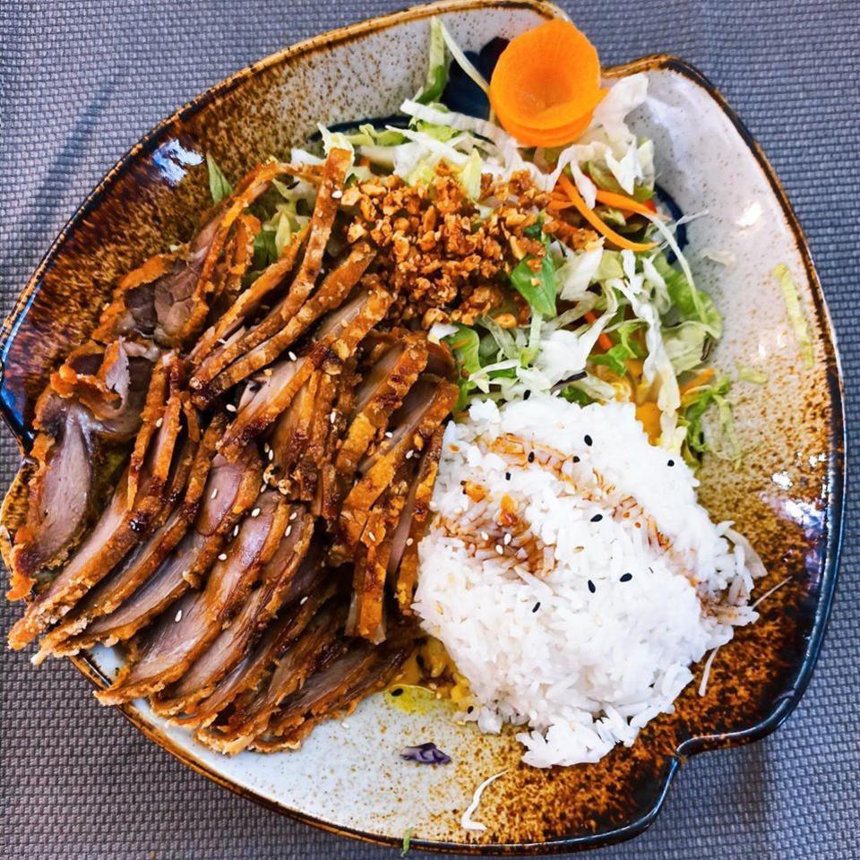 obedove menu nitra chrumkava kacica na vietnamsky sposob