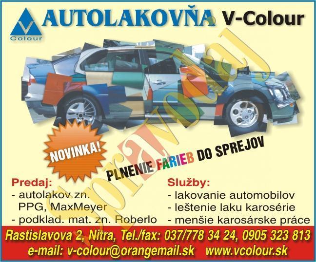 autolakovňa v-colour nitra