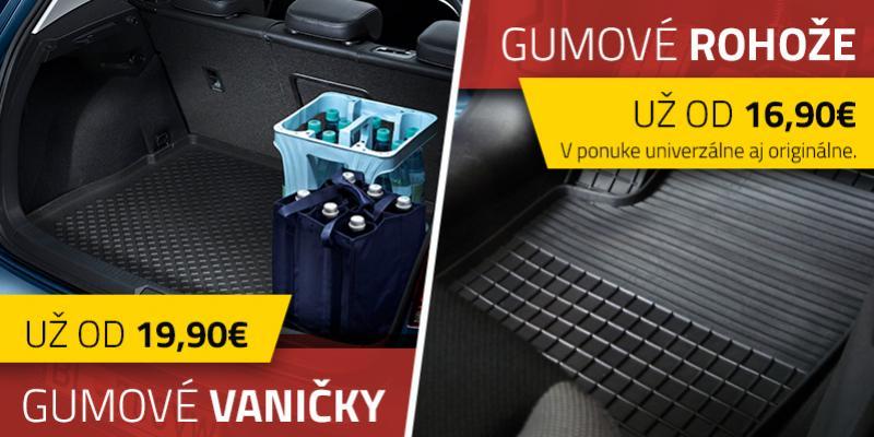 Gumov� vani�ky od Topmotors Nitra