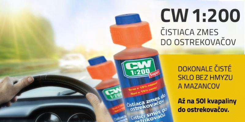 cw koncentrat pre ciste sklaTopmotors Nitra