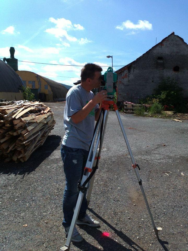 Geodetické práce Gea Nitra