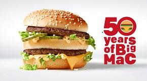 Big Mac oslavuje 50 rokov!