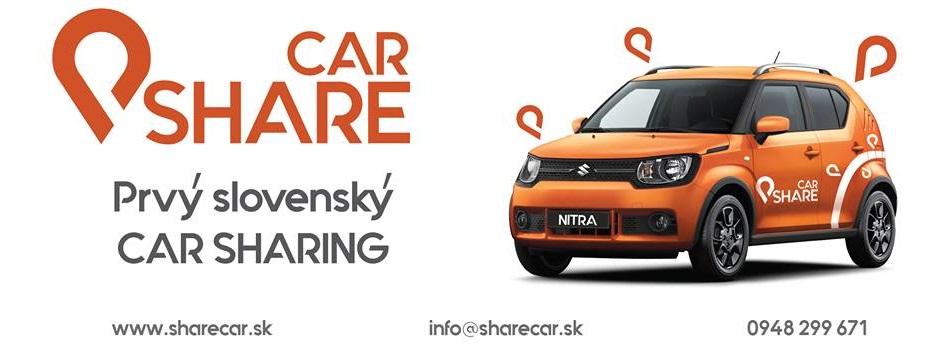 SHARE CAR zdieľané autá