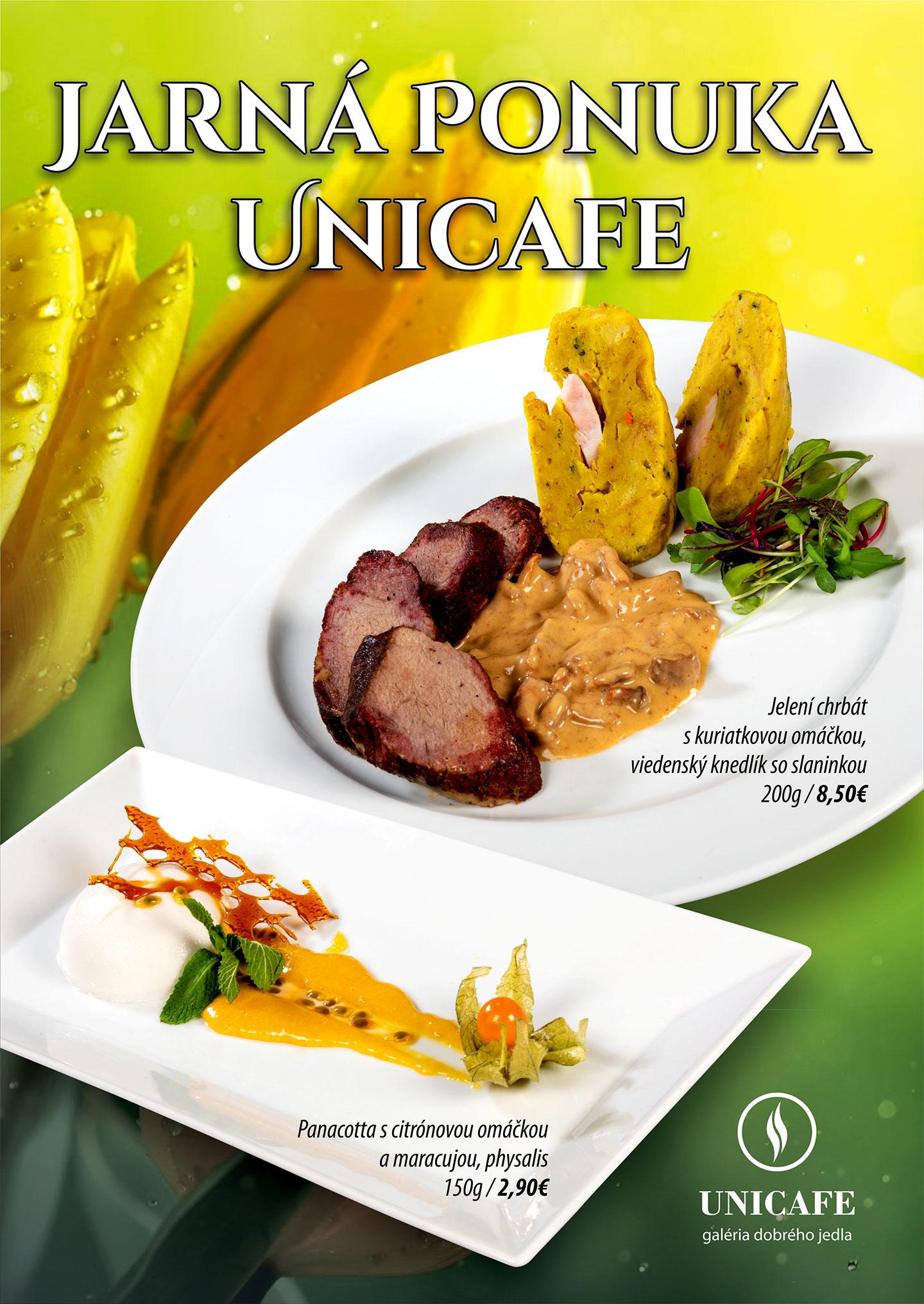 Jarná ponuka UNICAFE