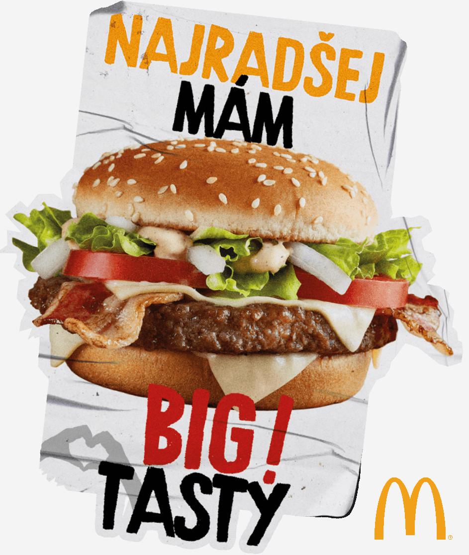 Najradšej mám Big Tasty