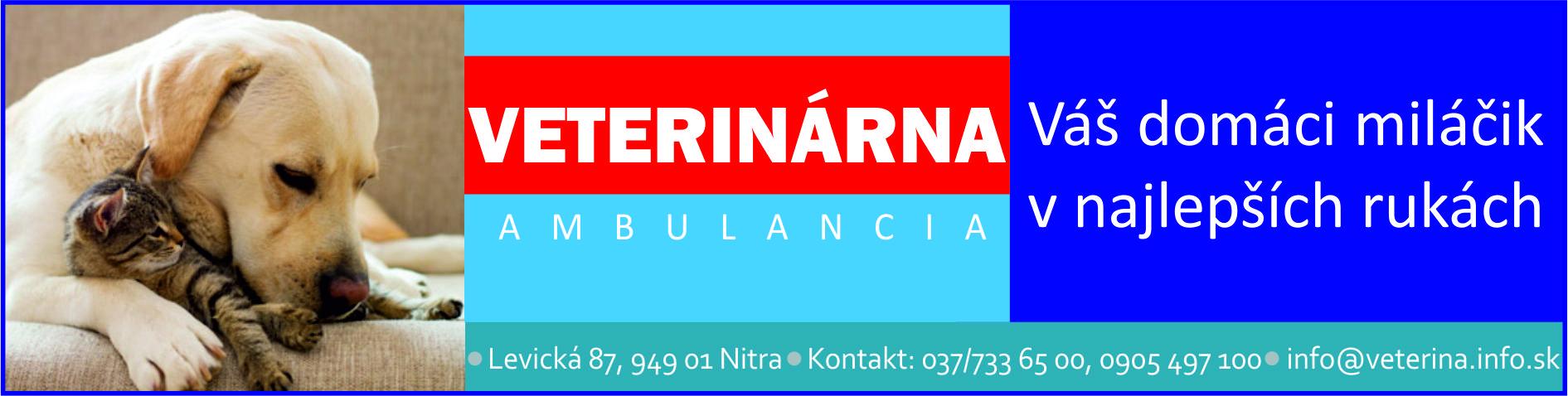 Veterinárna ambulancia Plakovič Nitra