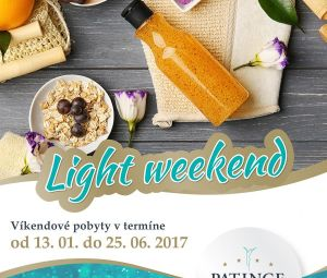 Doprajte si LIGHT WEEK...