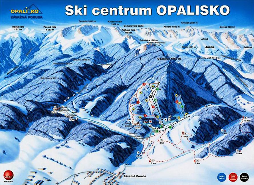 3a501962d8 Opalisko - lyžovačka v srdci Liptova - Katalóg firiem