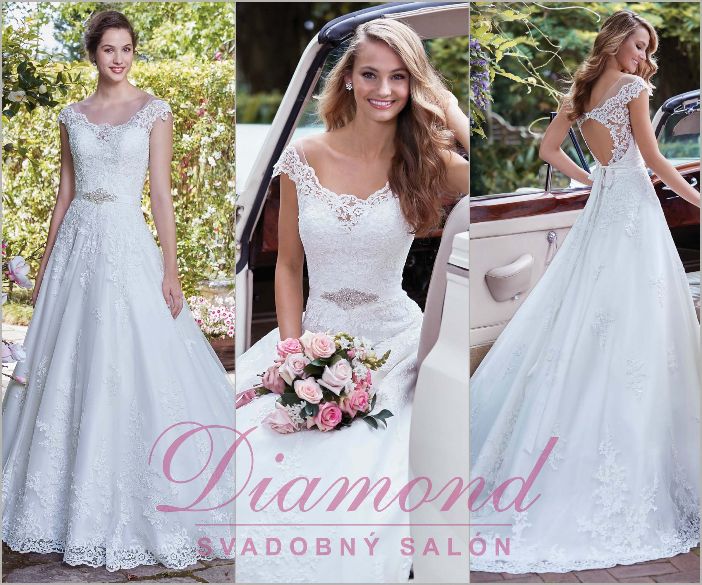 4dcf16cb051a Svadoný salón Diamond - všetko pre svadbu a - Móda