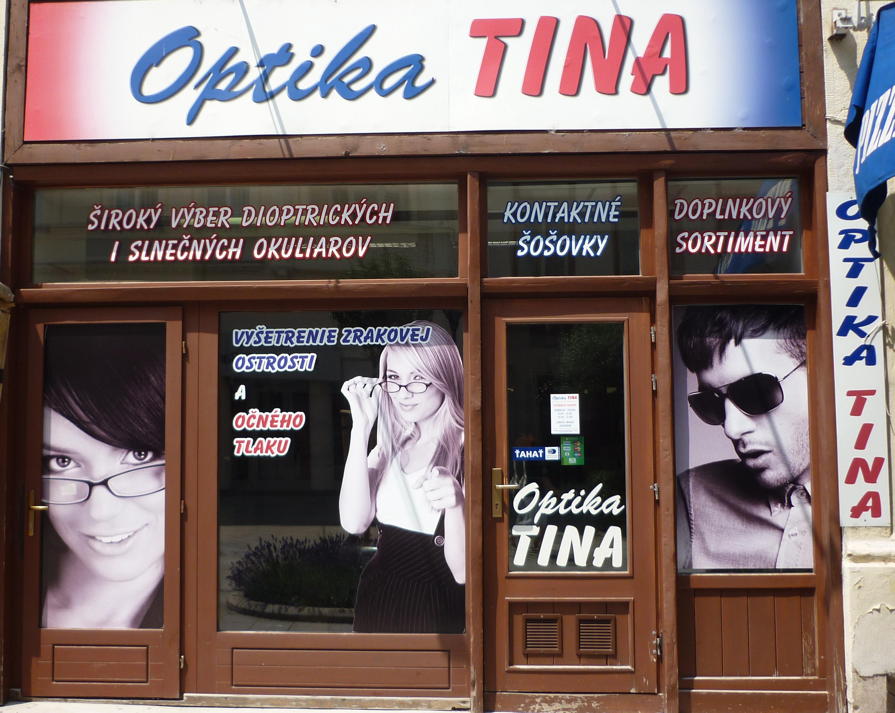 756c462c9 Očná optika Tina Nitra - dajte si vyšetriť svoj - Zdravie | moja Nitra