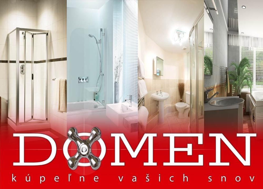 Kúpeľňové štúdio DOMEN Nové Zámky - kúpeľne Vaš - Bývanie  767d765463c