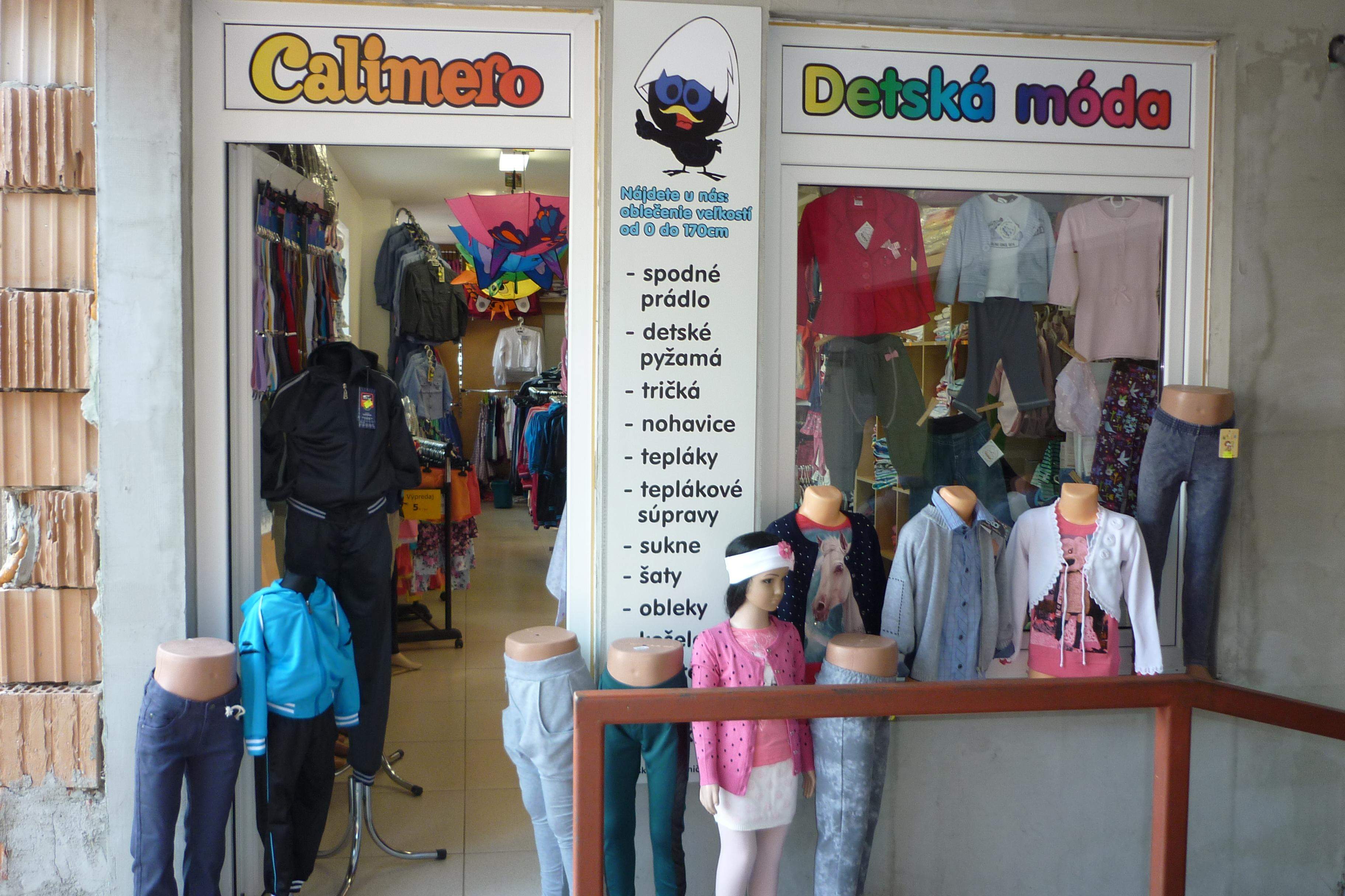 655cdb8cea0d CALIMERO - Detský textil Nitra - Móda