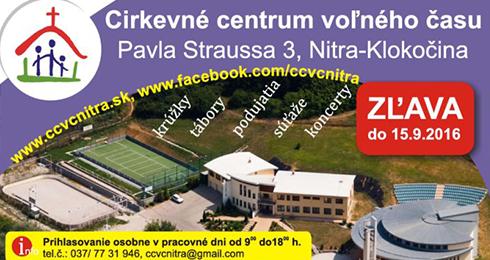 624dcb85807a Cirkevné centrum voľného času Nitra - za - Katalóg firiem