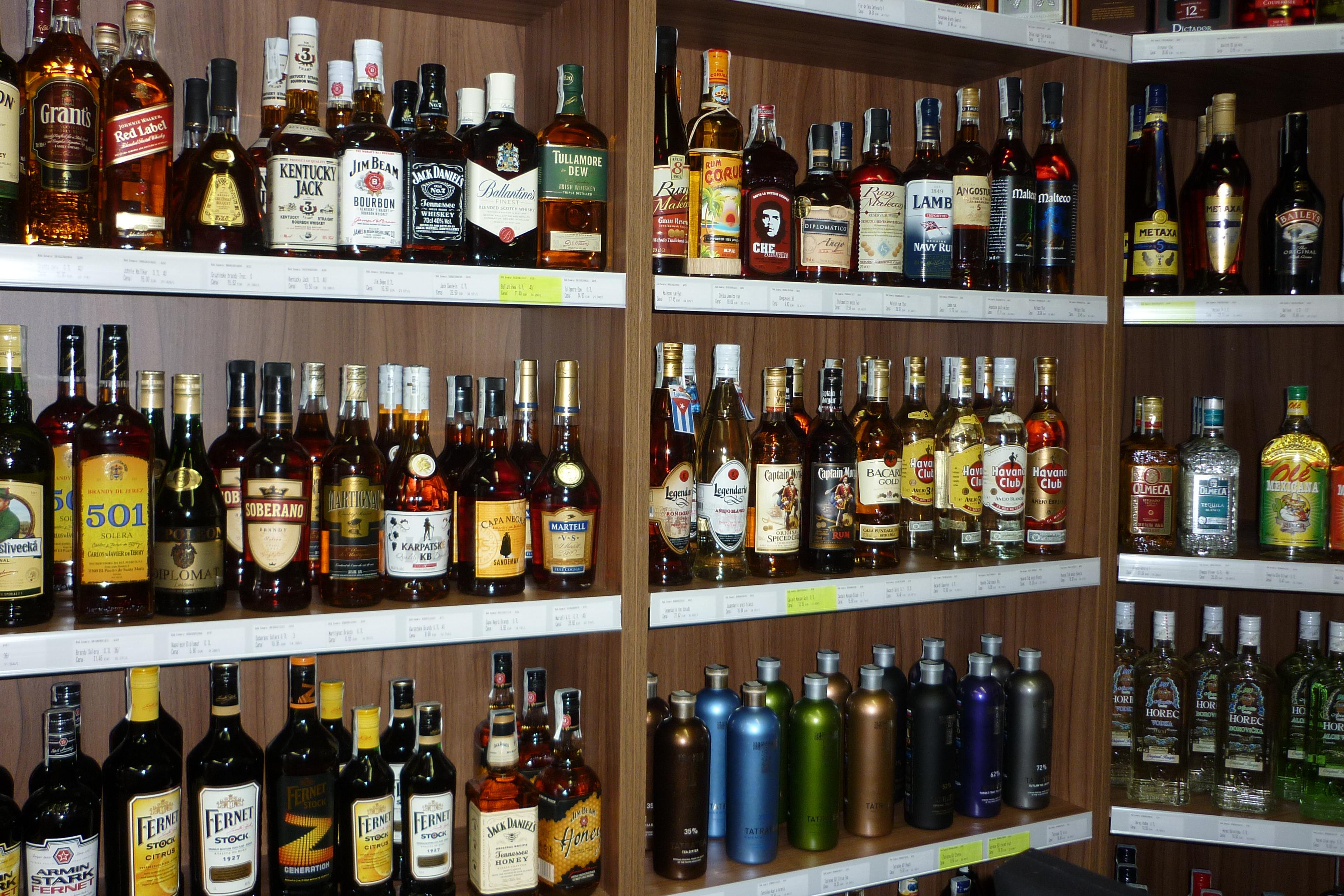 89c045baa Predaj destilátov Liquor shop Nitra - Gastro | moja Nitra