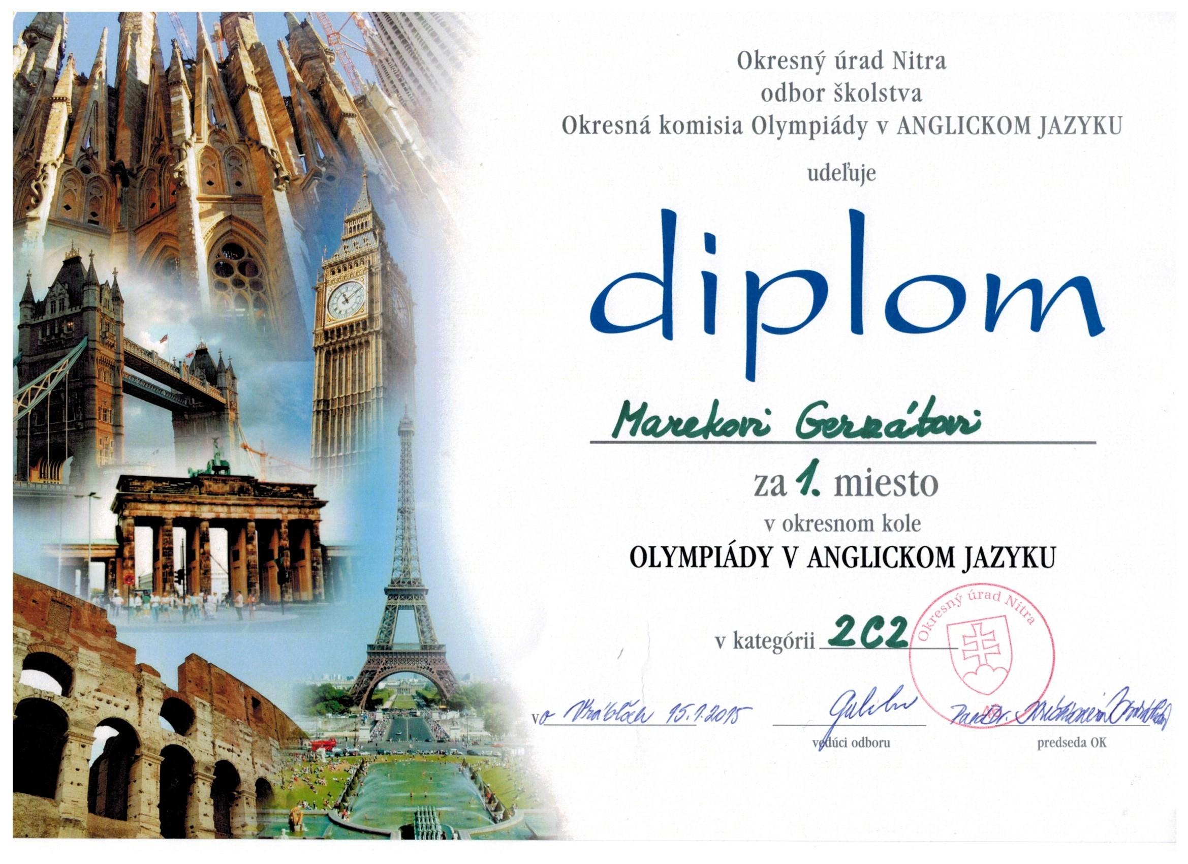 Domáci i medzinárodný úspech študentov Strednej - Kariéra  fb2791c43e