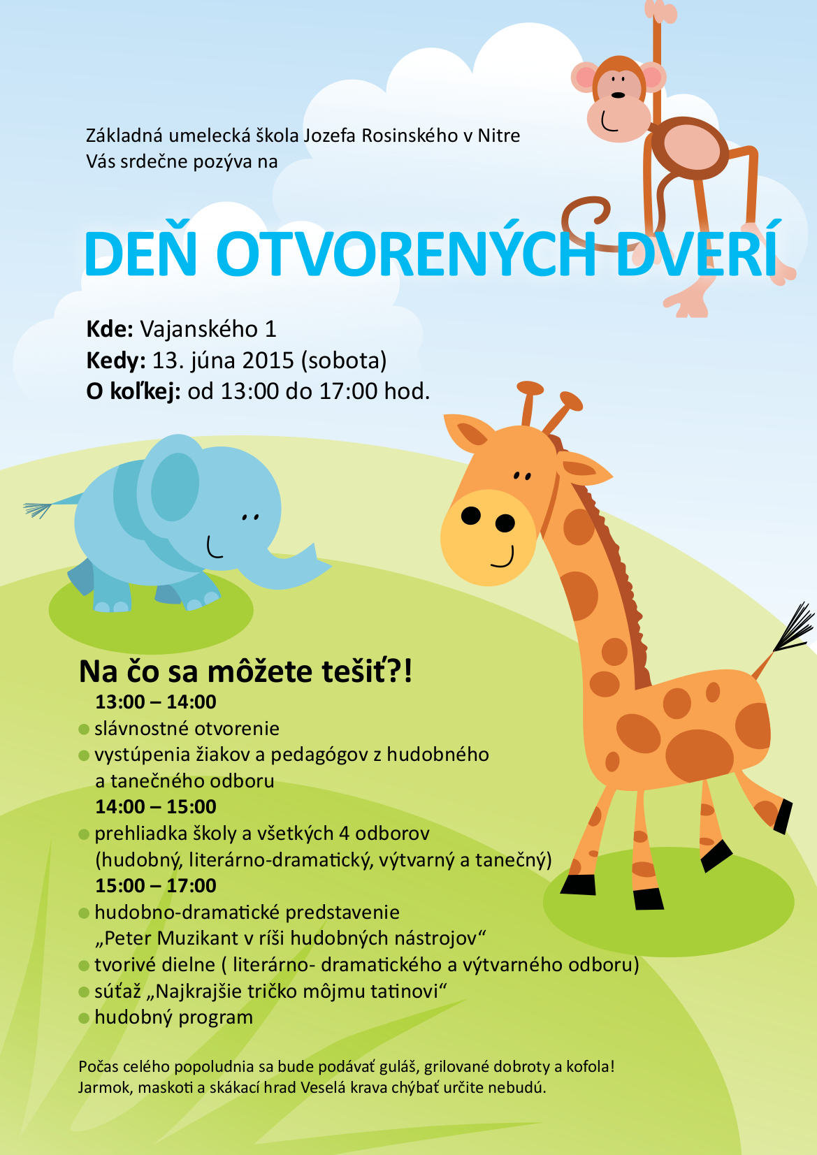 Deň otvorených dverí na ZUŠ J. Rosinského v Nit - Kariéra  02882573531