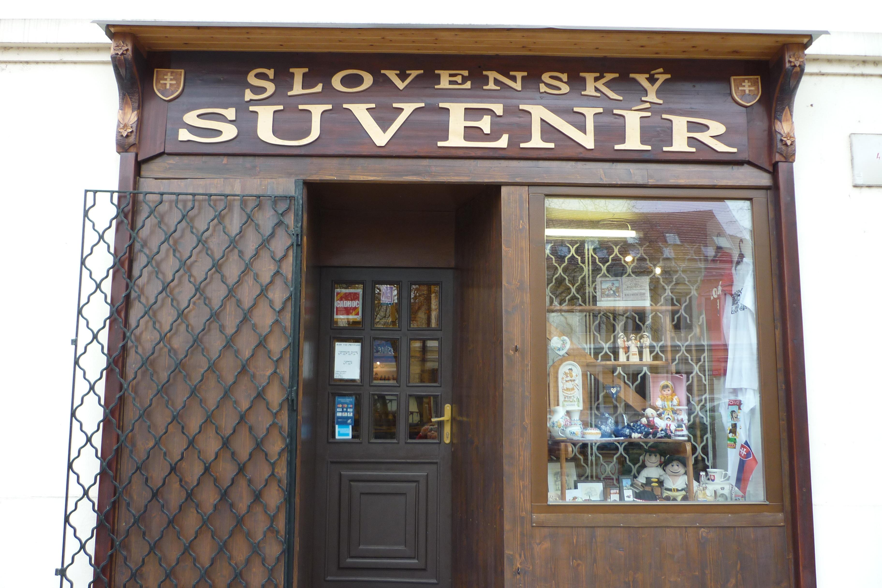 289790fd0f SLOVENSKÝ SUVENÍR Nitra - obchod s tradí - Služby a rôzne