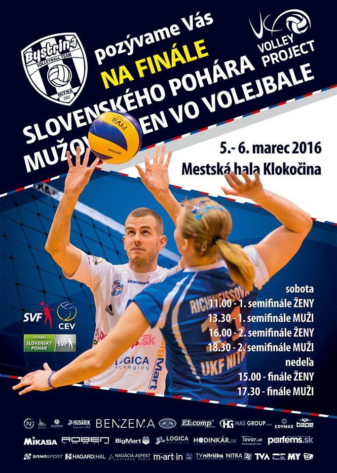 Slovenský pohár 2016 vo volejbale už ten - Katalóg firiem  5ec86d30352