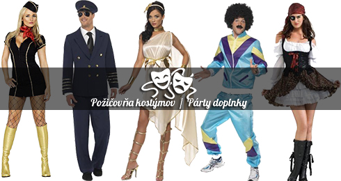 d50f622d3a46 Požičovňa kostýmov a párty doplnky Nitra - Služby a rôzne