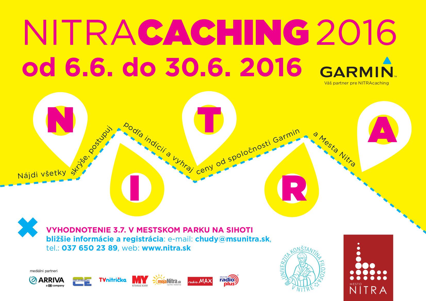 Nitracaching 2016 už len do 30. 6. 2016! - Katalóg firiem  3a9a72c72b4