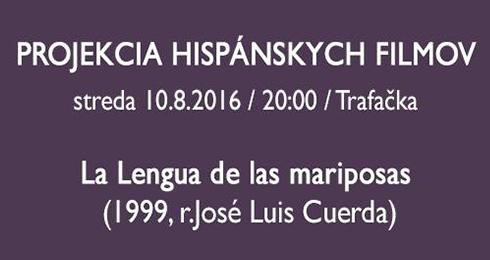 b52f59bdc58c Projekcia hispánskych filmov  La Lengua de las - Kariéra