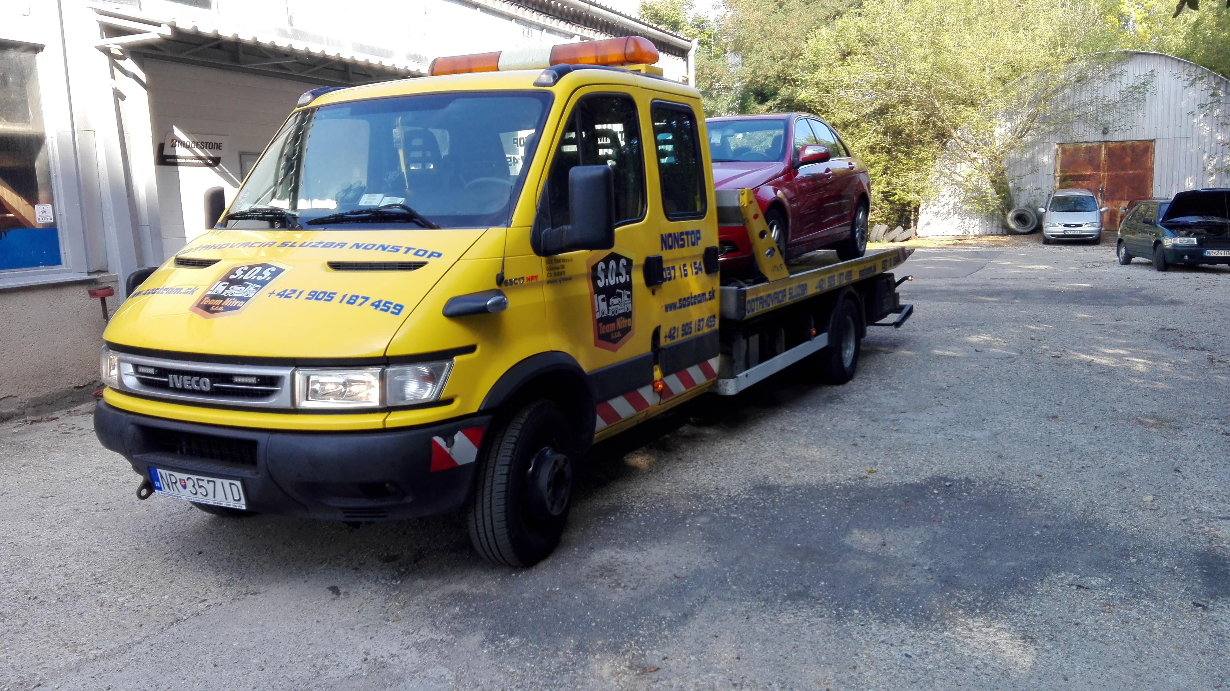 51f7ba6c73056 Odťahová služba S.O.S. TEAM NITRA s.r.o. Pomocníci pre každého motoristu