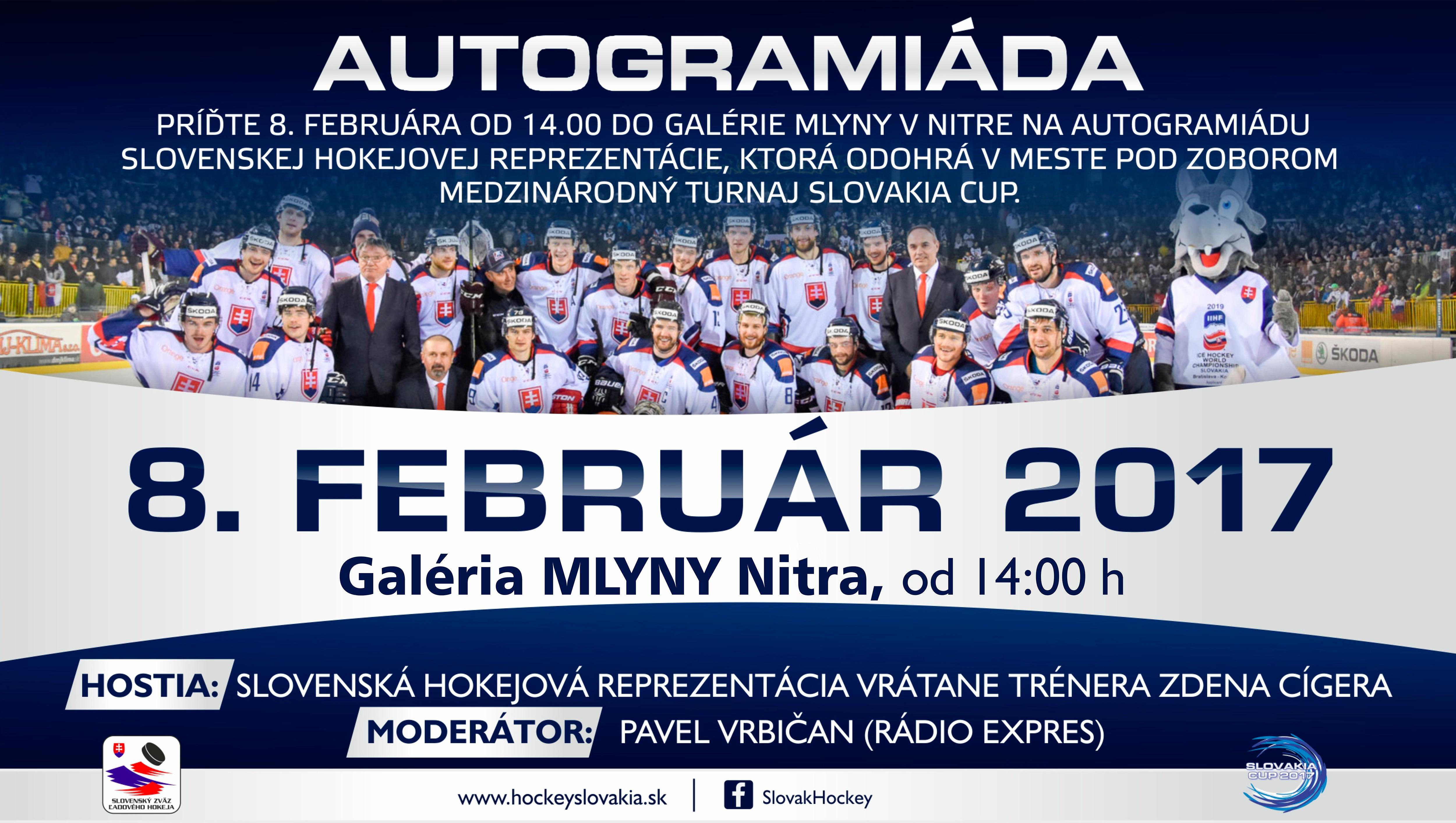 Autogramiáda slovenskej hokejovej reprez - Katalóg firiem  62aced609f5