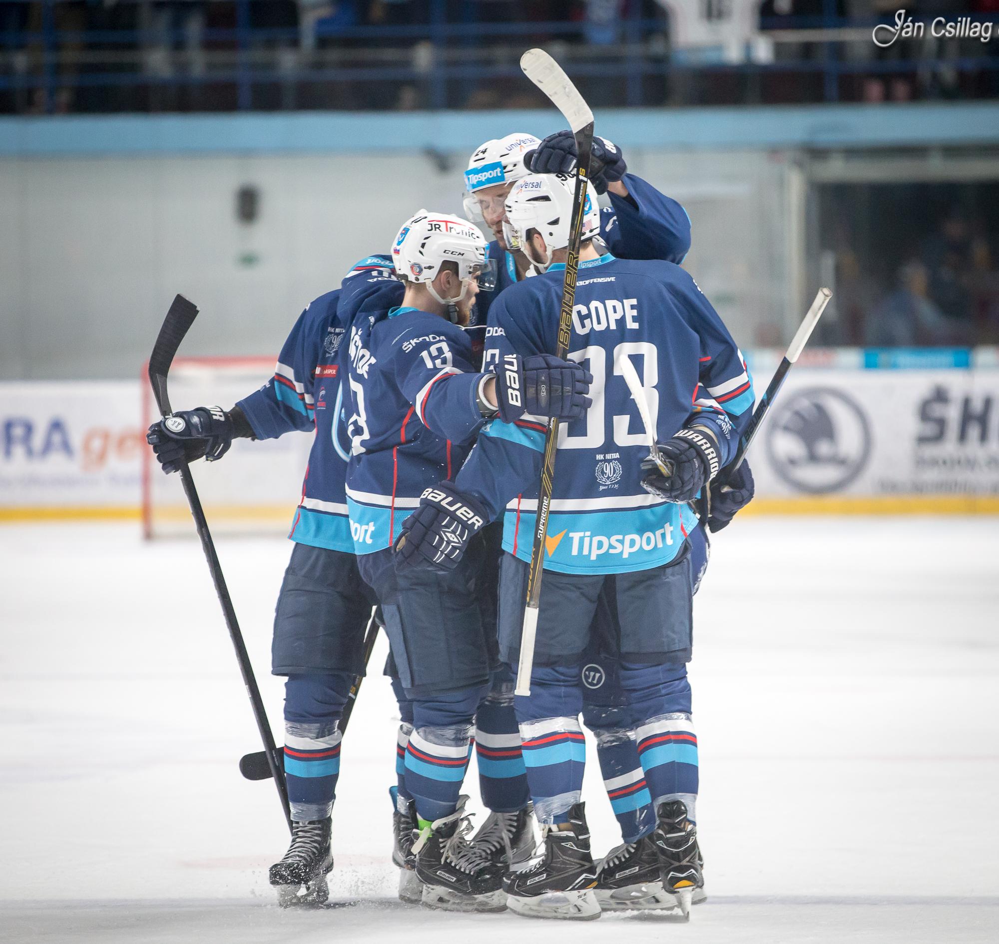 56c549f58f1db Hokej: Nitra zdolala tesným výsledkom Tre - Šport a relax | moja Nitra