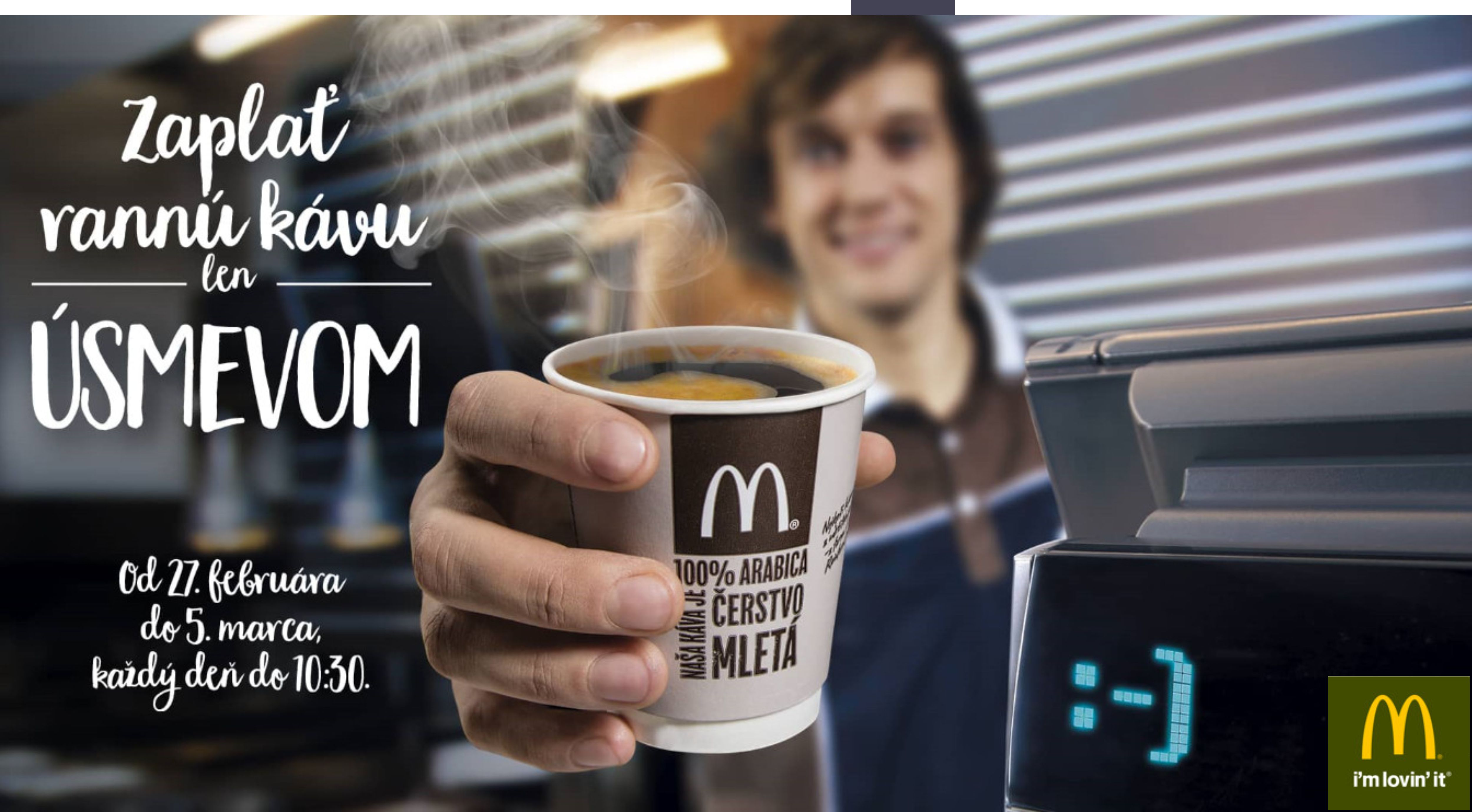 450cc59b57bb Zaplať rannú kávu len úsmevom - Katalóg firiem