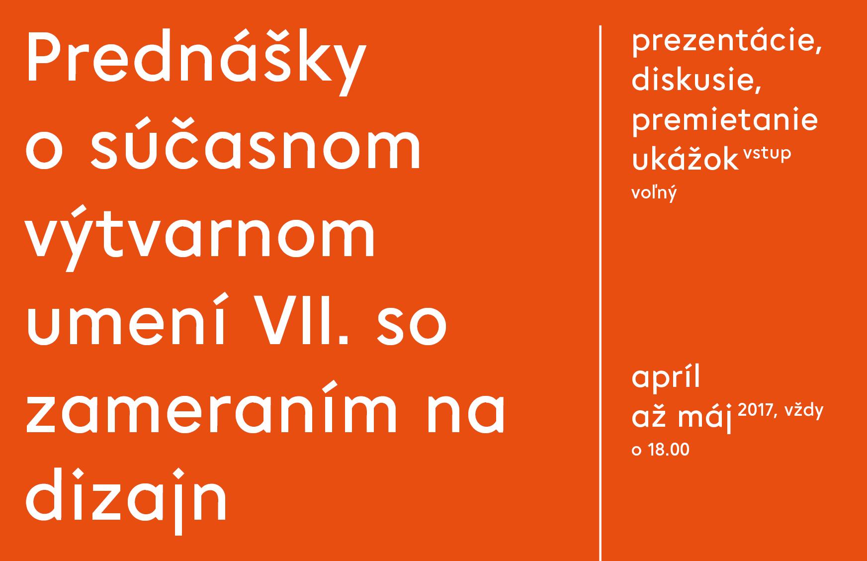 Prednášky o súčasnom výtvarnom umení VII. s - Kam v meste  03215d818e8