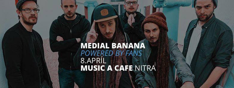 1ba408e8ca1bc Medial Banana vyrážajú na koncerty podľa - Katalóg firiem | moja Nitra