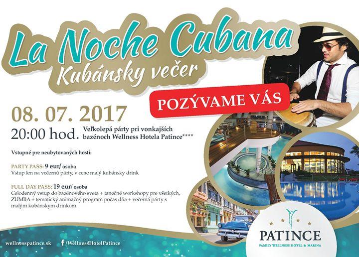 82e296dea901 La NOCHE Cubana - Kubánska noc vo Wellness Ho - Dovolenky