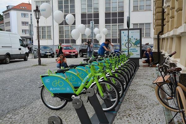 c2bf63bce5958 Zdieľané bicykle sú od piatka 28. júla súča - Kam v meste | moja Nitra
