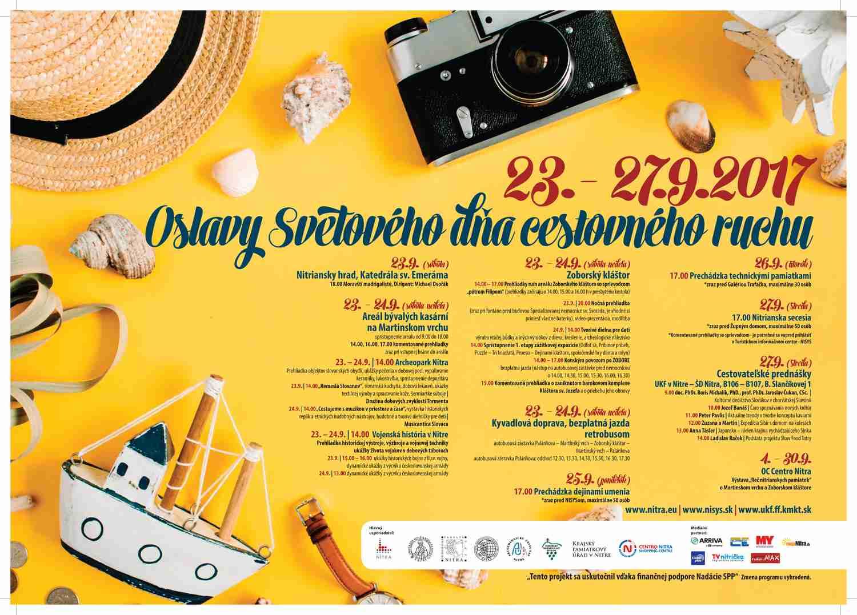 60a098c4359f Svetový deň cestovného ruchu v Nitre - Katalóg firiem