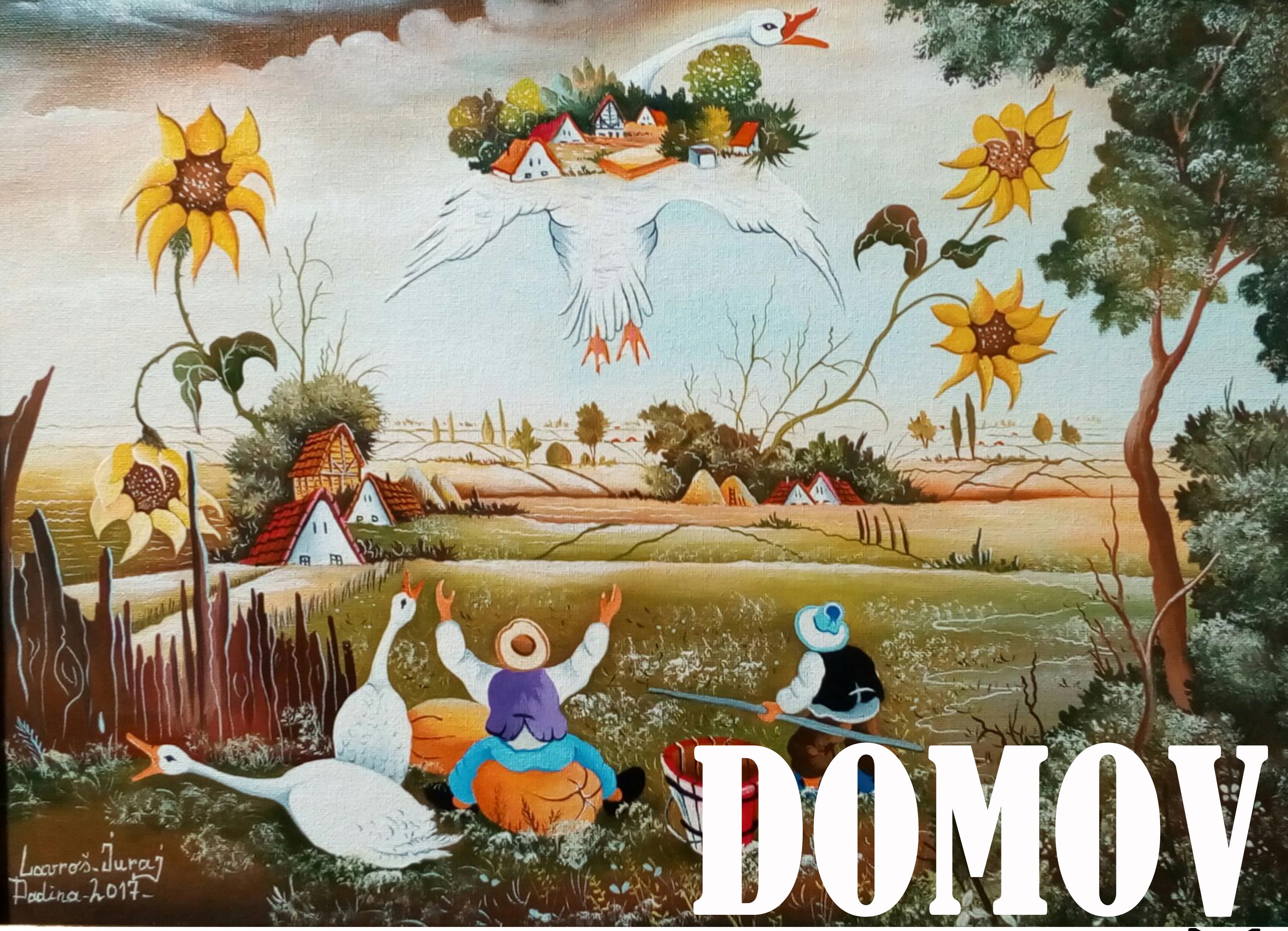 DOMOV vernisáž výstavy insitných maliarov J - Kam v meste  b6e09614c51