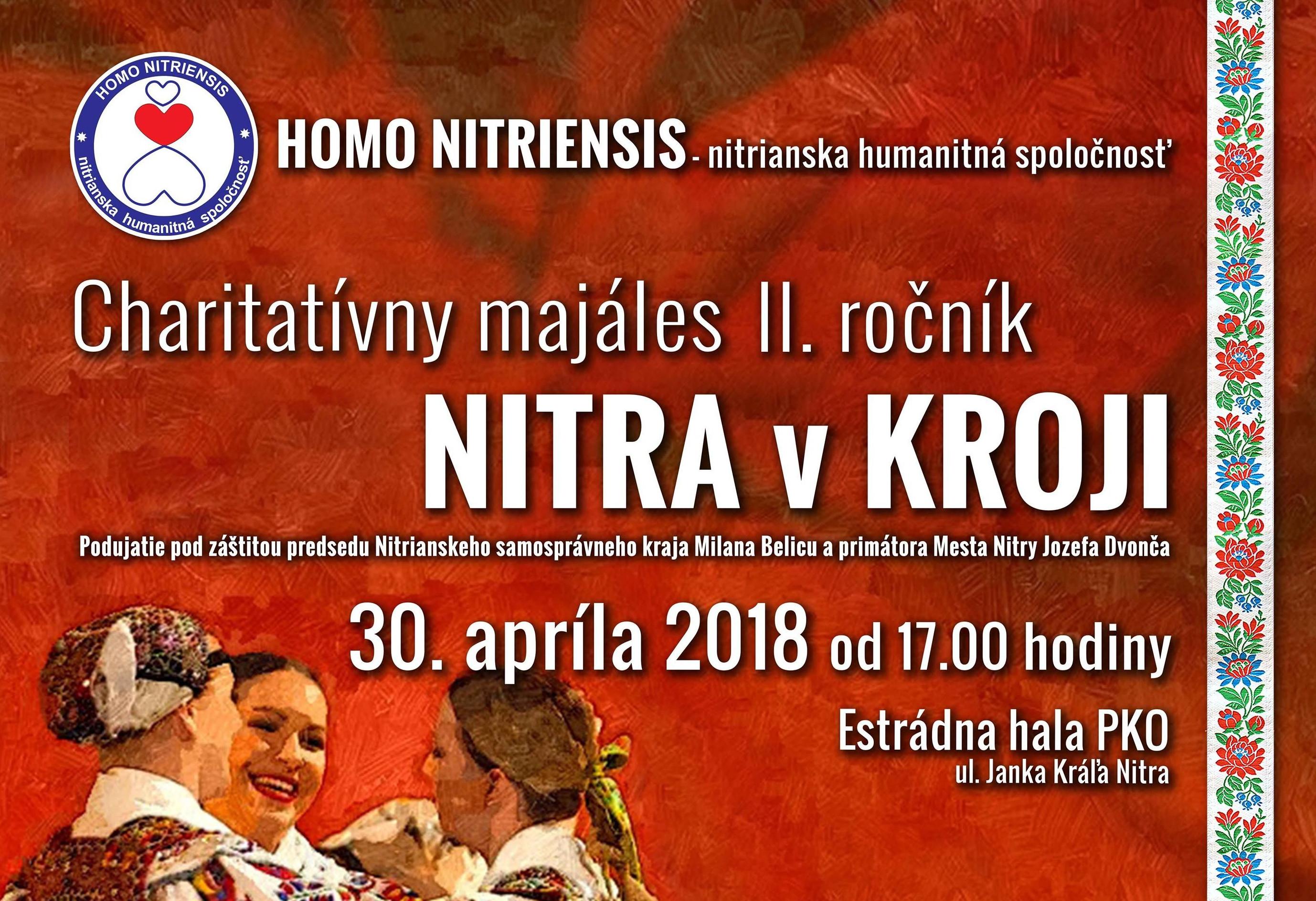 Charitatívny Majáles NITRA v KROJI 2018 - Kam v meste  ed46b6658b2