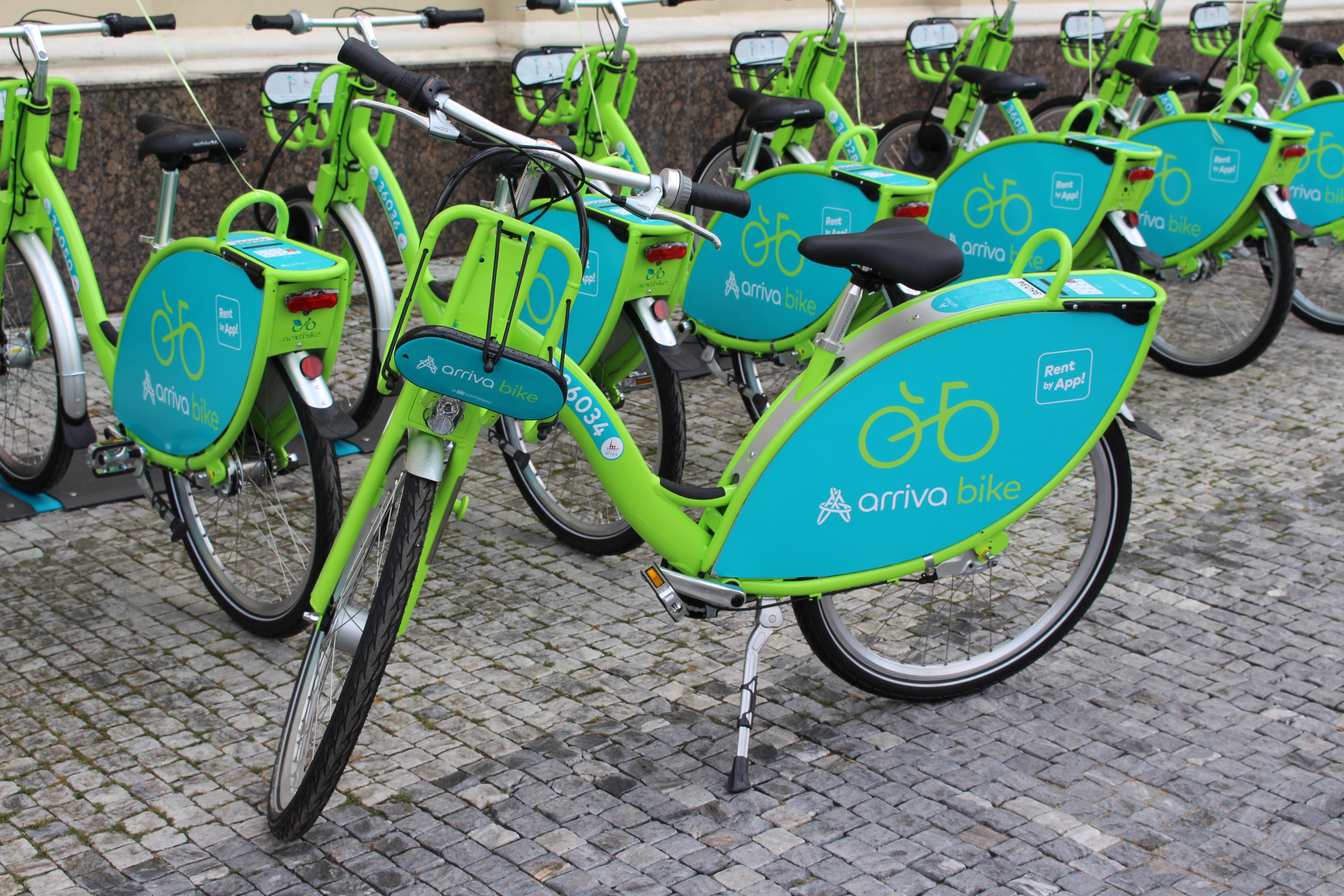 a5ee86c193082 S populárnymi zdieľanými bicyklami arriva b - Kam v meste | moja Nitra