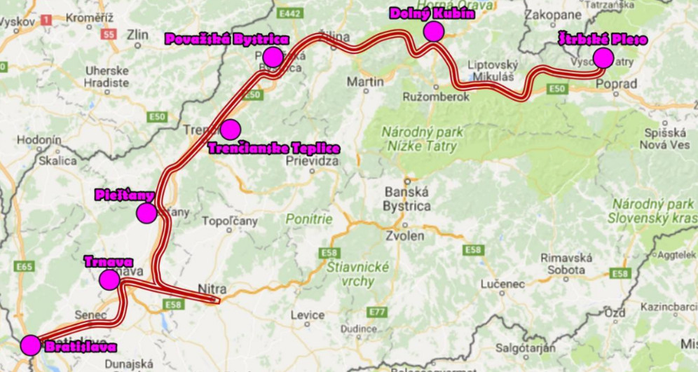 TIS  Od Tatier k Dunaju aj cez Nitru - Kam v meste  1fd185d180e