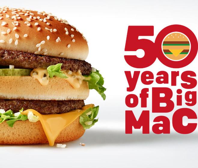 d1874b7cb5b Big Mac oslavuje 50 rokov, gratulujeme v Ni - Kam v meste | moja Nitra