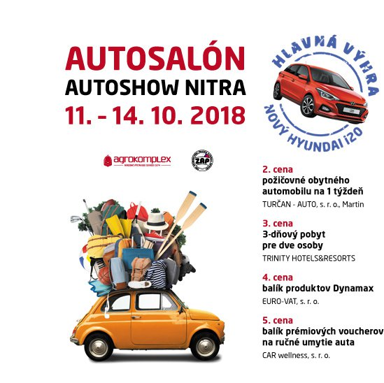 7aa4533b8a AUTOSALÓN AUTOSHOW NITRA 2018 - Auto-Moto
