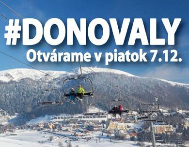 1343120e1 Lyžovačka na Donovaloch už od piatka, 7. de - Kam v meste | moja Nitra